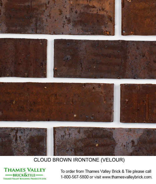 Brown Ironstone - Cloud Ceramics Facebrick - Brown Brick