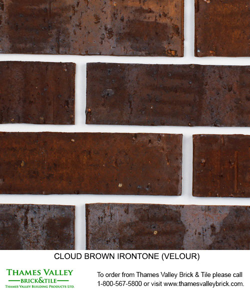 Brown Ironstone - Cloud Ceramics Facebrick - Brown Brick