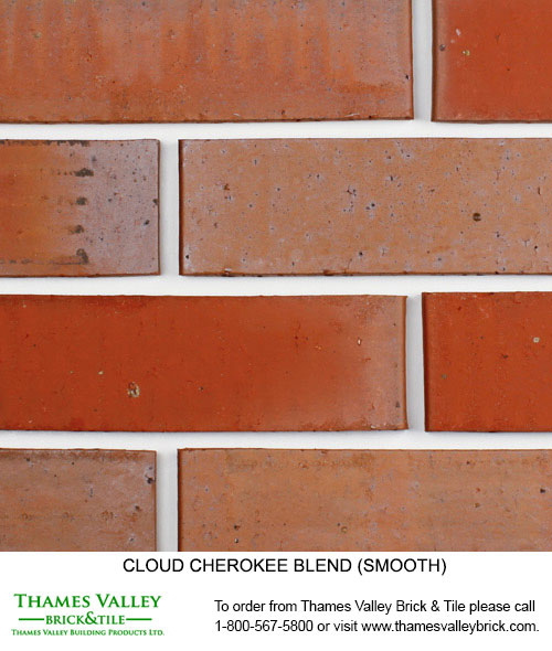 Cherokee - Cloud Ceramics Facebrick - Red Brick