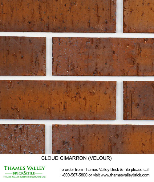 Cimarron - Cloud Ceramics Facebrick - Brown Brick