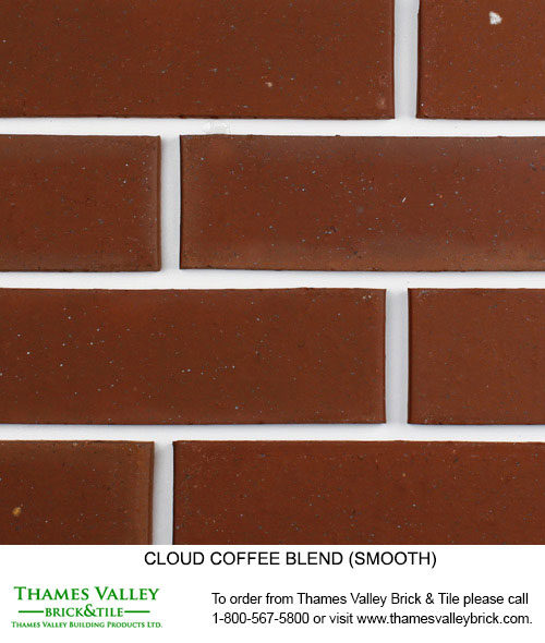 Coffee - Cloud Ceramics Facebrick - Brown Brick