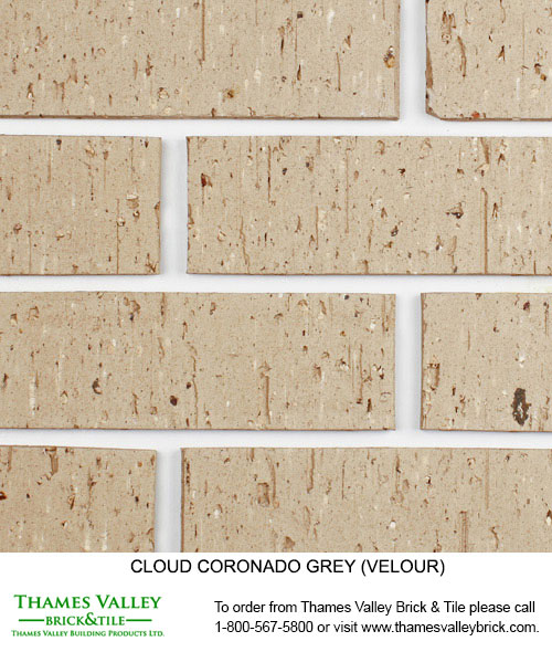 Coronado - Cloud Ceramics Facebrick - Grey Brick