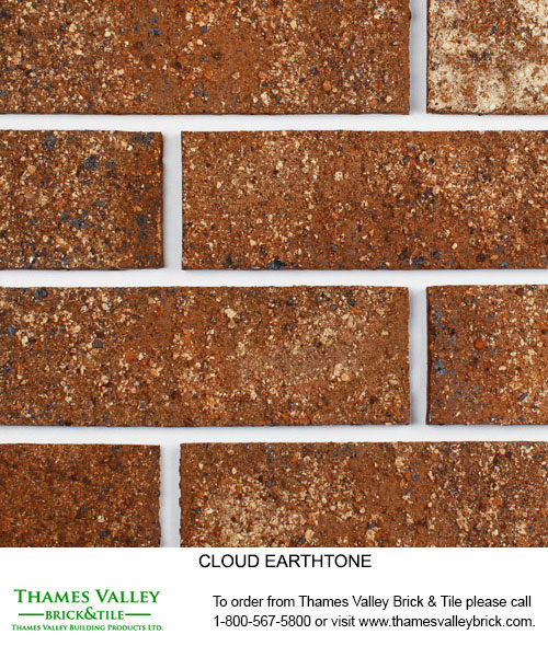 Earthtone - Cloud Ceramics Facebrick - Brown Brick