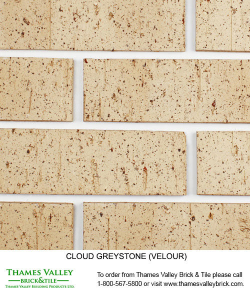 Greystone - Cloud Ceramics Facebrick- Grey Brick