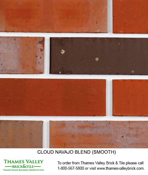 Navajo - Cloud Ceramics Facebrick - Red Brick