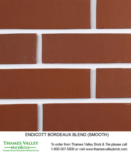 Bordeaux Blend - Endicott Facebrick - Red Brick