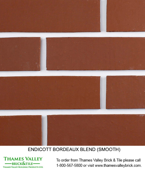 Bordeaux Blend - Endicott Facebrick - Red Brick