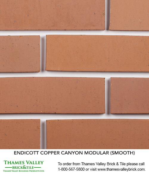 Copper Canyon - Endicott Facebrick