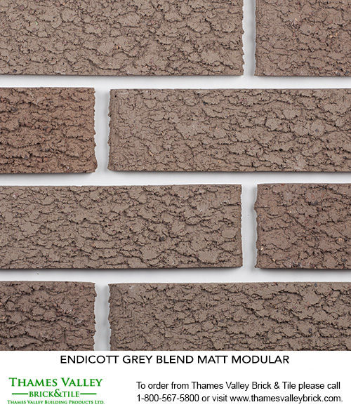 Grey Blend - Endicott Facebrick - Grey Brick