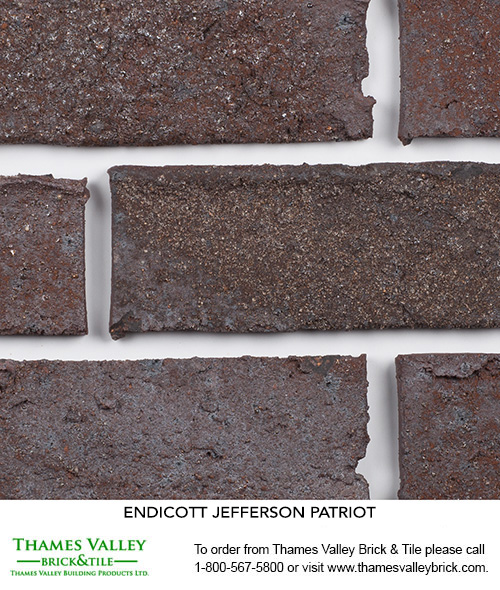 Patriot - Endicott Facebrick - Brown Brick