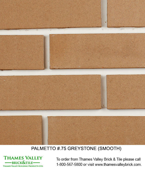 Greystone .75 - Palmetto Facebrick - grey brick