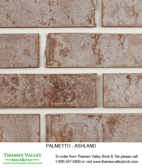 Ashland - Palmetto Facebrick - Grey Brick
