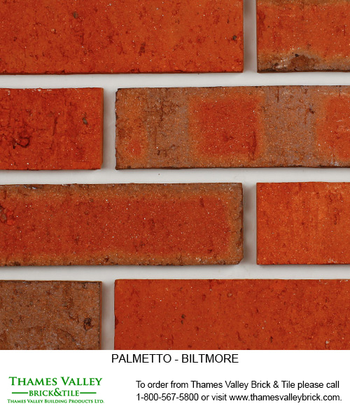 Biltmore - Palmetto Facebrick - Red Brick