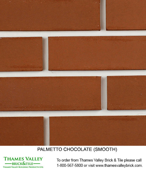 Chocolate / Caramel / Mocha / Walnut - Palmetto Facebrick - Brown Brick