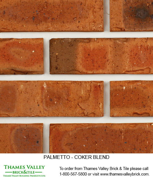 Coker Blend - Palmetto Facebrick - Brown Brick