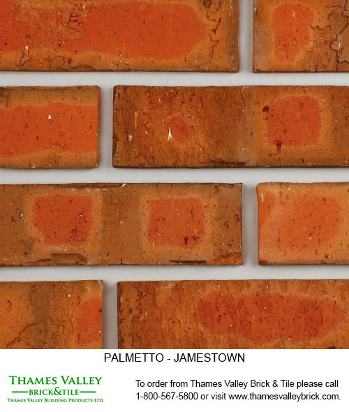Jamestown - Palmetto Facebrick - red brick