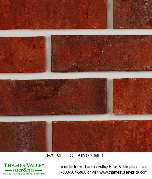 Kingsmill - Palmetto Facebrick - Red Brick