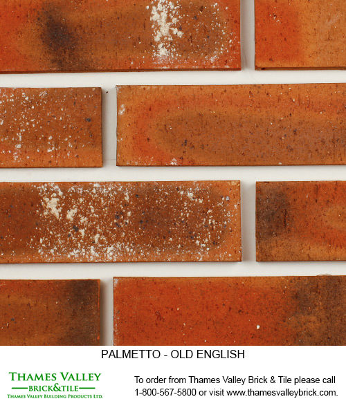 Old English - Palmetto Facebrick - Red Brick