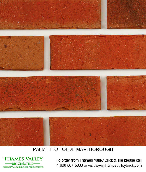 Old Marlborough - Palmetto Facebrick - Red Brick