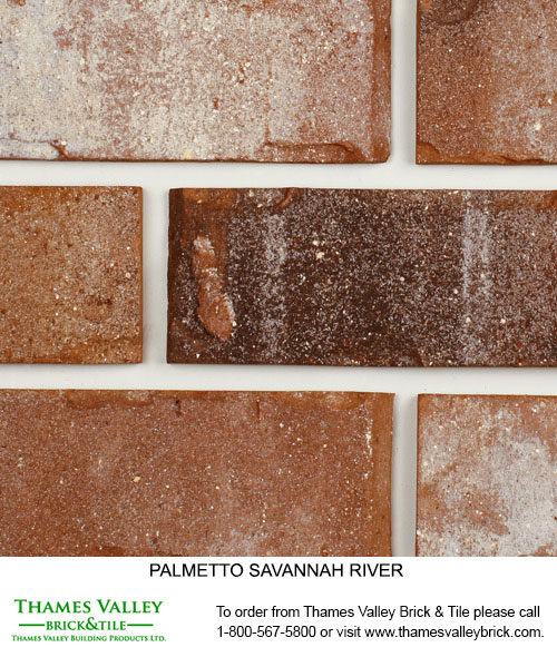 Savannah River - Palmetto Facebrick - Brown Brick