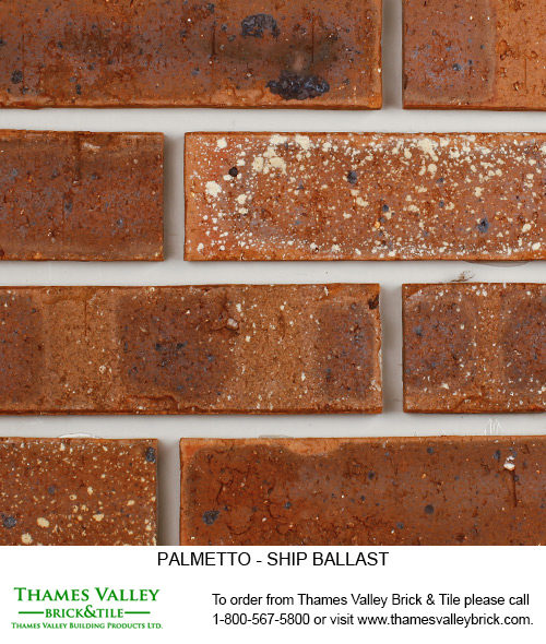 Ship Ballast - Palmetto Facebrick - Brown Brick