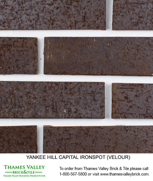 Capital IS - Yankee Hill Facebrick - Black Brick
