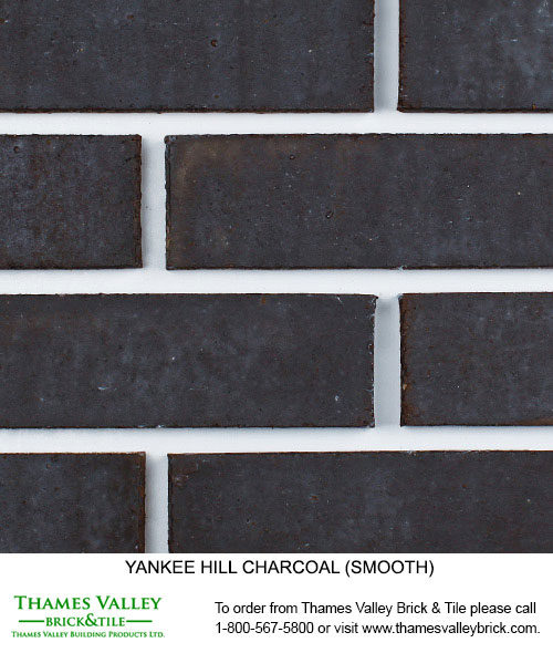 Charcoal - Yankee Hill Facebrick - black brick