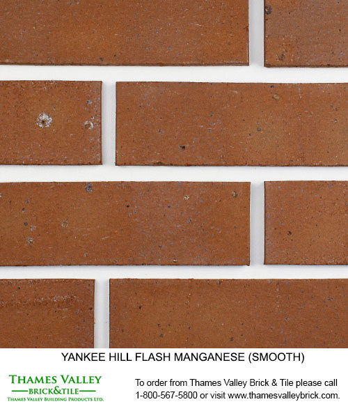 Flash Mangenese Dove Gray - Yankee Hill Facebrick - Brown Brick