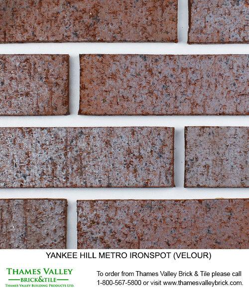 Metro IS - Yankee Hill Facebrick - Red Brick