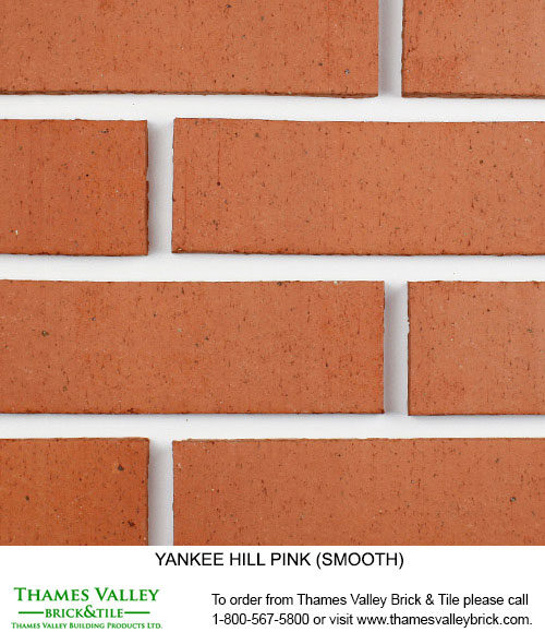 Pink - Yankee Hill Facebrick - Coral Rose Brick