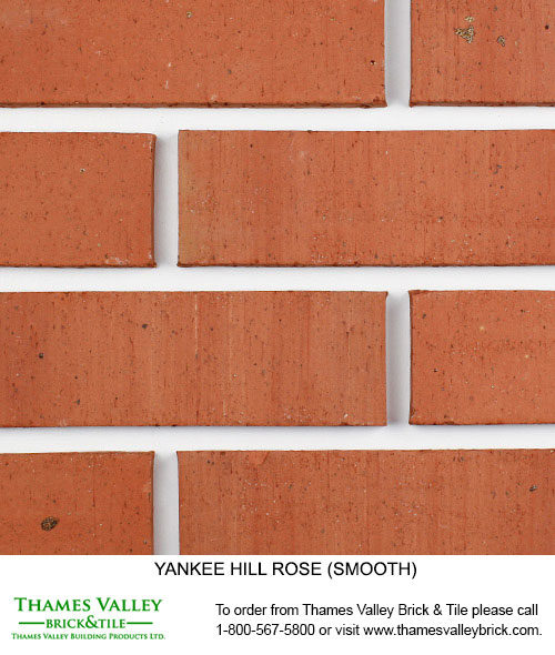 Rose - Yankee Hill Facebrick - Coral Rose Brick