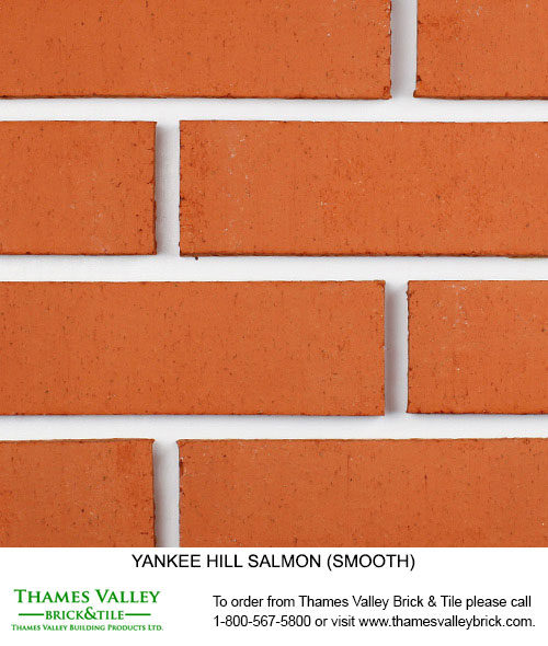 Salmon - Yankee Hill Facebrick - Coral Rose Brick