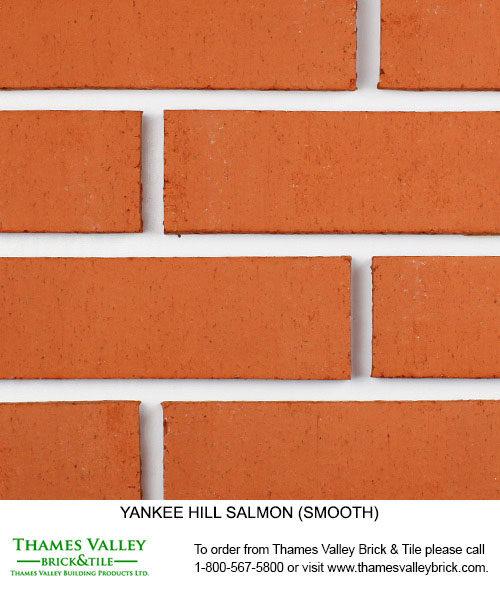 Salmon - Yankee Hill Facebrick - Coral Rose Brick