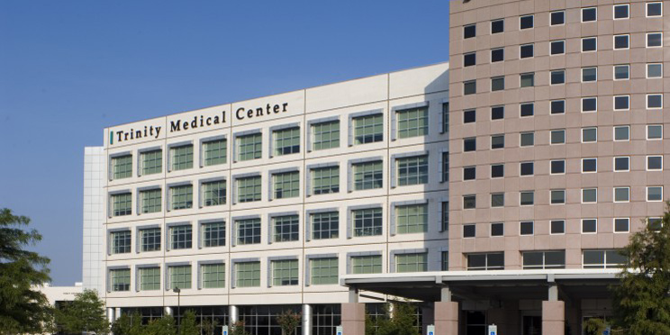 Trinity Medical Center - by Elgin Butler