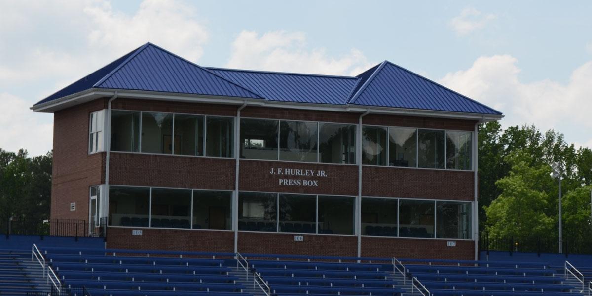 Catawba Stadium - by Taylor Clay Products, Inc.
