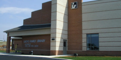 Grove Family Library - by Nitterhouse Masonry Products, LLC