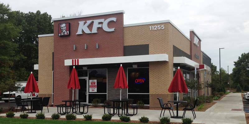 KFC Restaurant - by TabsII Wall Systems