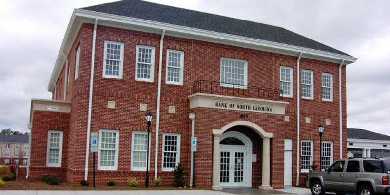 Bank of North Carolina - by Taylor Clay Products, Inc.