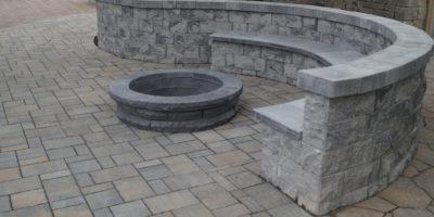 Allan Block Courtyard - by Nitterhouse Masonry Products, LLC