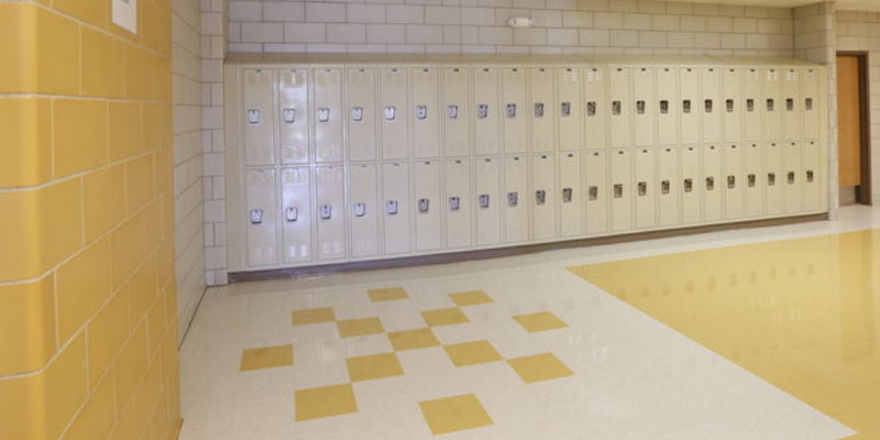 School Interior - by Spectra Glaze